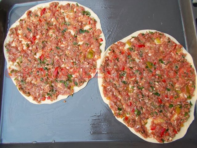 Uncooked Lahmacun
