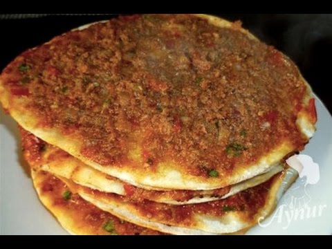 Turkish Pizza Lahmacun